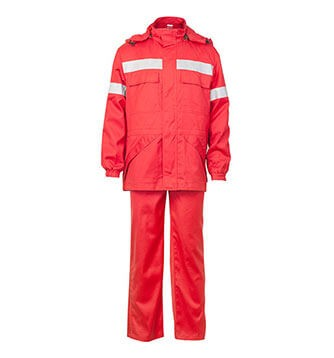 Cotton Fire Retardant Antistatic Jacket and Bib Overall