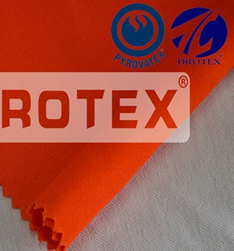 265gsm Cotton PYROVATEX Treatment Flame Retardant Fabric